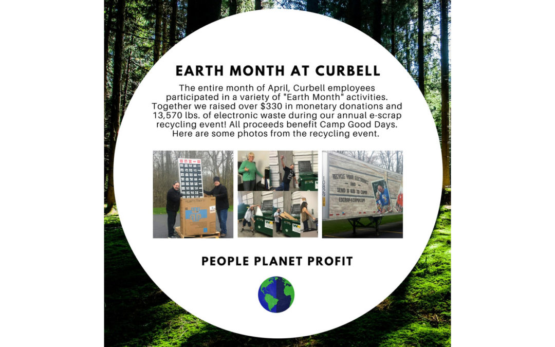 Earth Month at Curbell