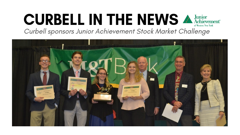 Curbell In The News: Curbell Sponsors Junior Achievement Stock Market Challenge