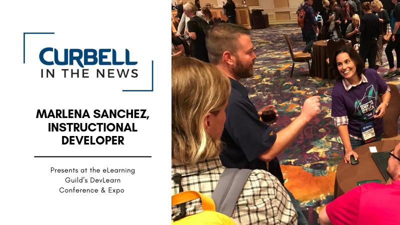 Marlena Sanchez Presents at DevLearn Conference