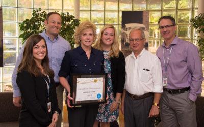 Values in Action – Congratulations Michelle Baudo!