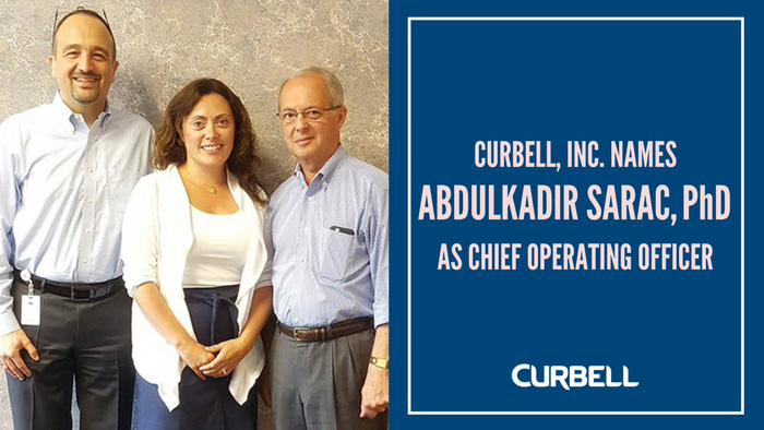 Curbell, Inc. Names Abdulkadir Sarac as COO