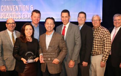 Curbell Plastics Receives IAPD Environmental Excellence and Education Circle of Champions Awards