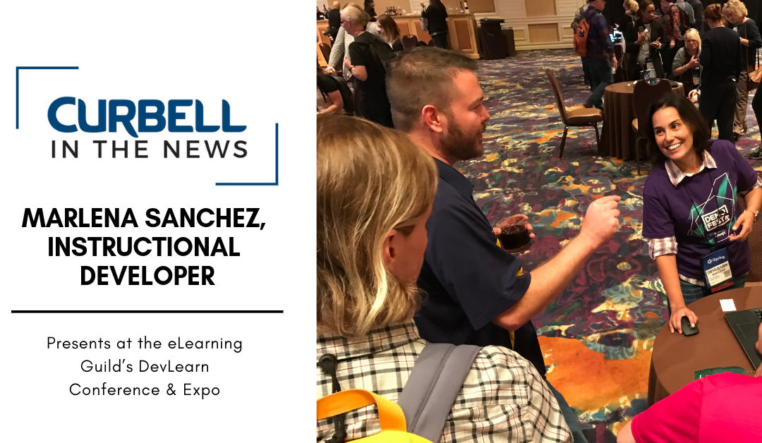 Marlena Sanchez Presents at DevLearn Conference