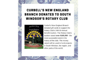 Curbell in the Community – Rotary Club Donation
