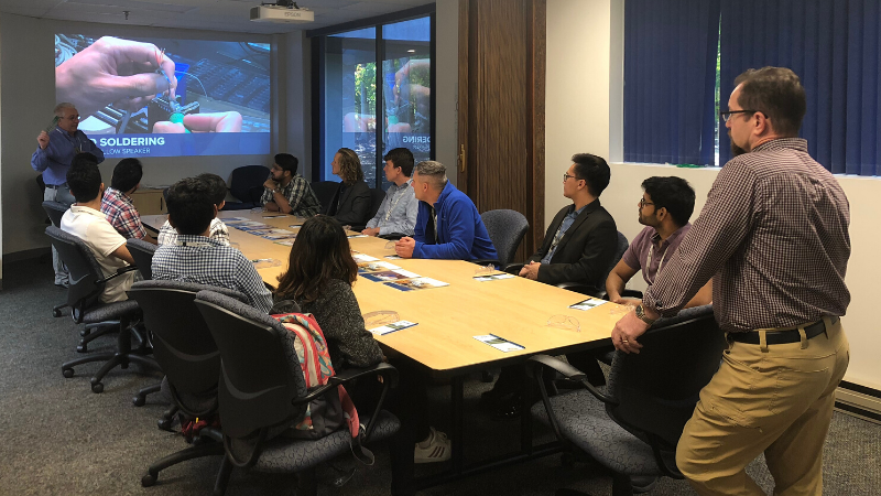Curbell Medical Hosts UB Management Club